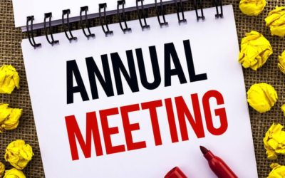 Annual Board Meeting Season
