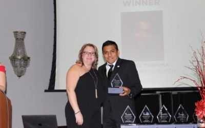 Miguel Pariona Takes Home Financial Impact Industry Award