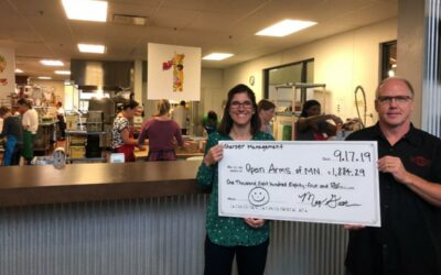 Sharper Management Supports Community Organization Open Arms