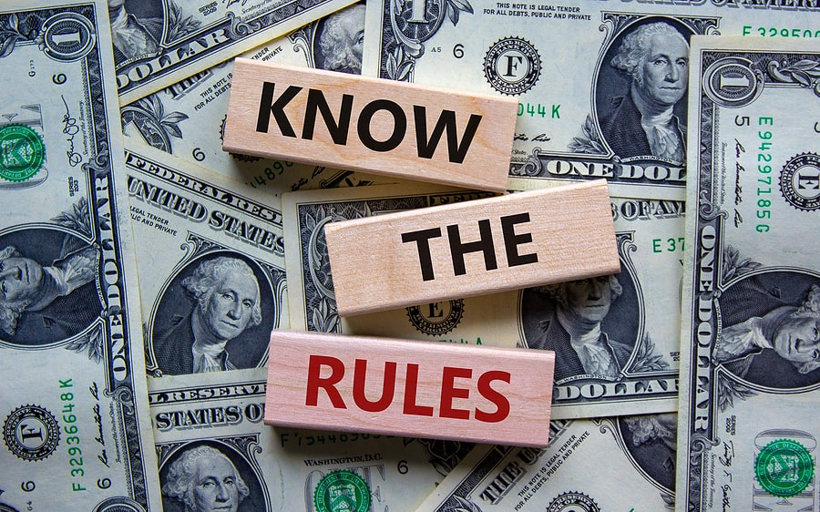 Association Rules – What Is and What Is Not Enforceable